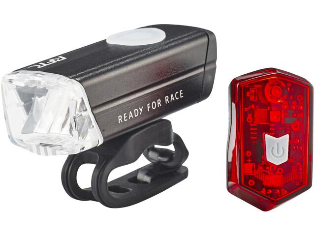 Cube RFR Tour 25 HPA Cykellygter sæt grå/sort
